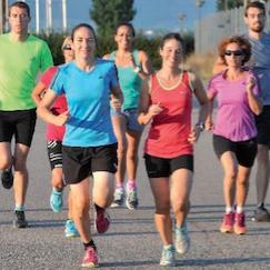 Groupes de course à pied